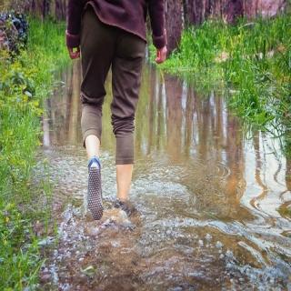 Les #chaussuresPIedsNus #leguano permettent de se sentir au contact des éléments et de retrouver notre vraie #nature. Nous sommes faits pour #marcher #piedsNus. L'être humain marche #PiedsNus depuis 2 millions d'années.⠀ Soyez prudents par les températures actuelles : écoutez votre corps ! Nous proposons aussi des chaussettes imperméables qui vous permettront de conserver les sensations PiedsNus sauf le froid et l'humidité :-)⠀ #marcherpiedsnus #marchemeditative #marchenature #chaussettes #chaussettesimpermeables #physiologie #chaussuresconfort